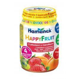 Hamánek Happy Fruit s jahodami a meruňkou 100%