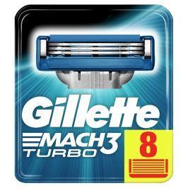 Gillette Mach3 Turbo Náhradní hlavice k holicímu strojku 8ks