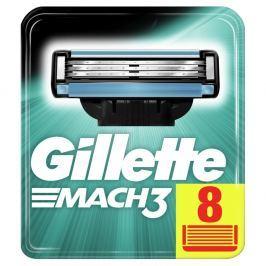 Gillette Mach3 Holicí Hlavice Pro Muže 8 ks