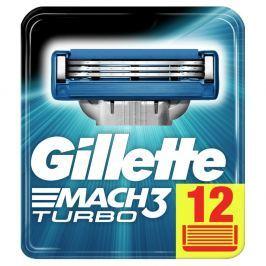 Gillette Mach3 Turbo Náhradní hlavice k holicímu strojku 12ks