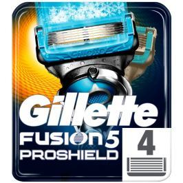 Gillette Fusion ProShield chill Holicí hlavice pro holicí strojek 4ks
