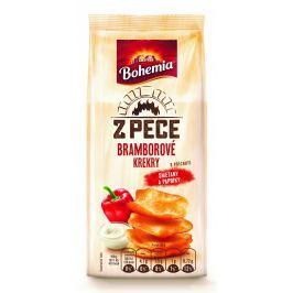 Bohemia Z pece Bramborové krekry s příchutí smetany a papriky