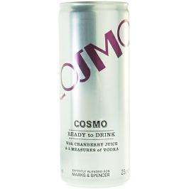 Marks & Spencer Cosmo - koktejl s brusinkovou šťávou a vodkou