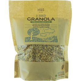 Marks & Spencer Granola z ovesných vloček se semínky a přidanou vlákninou