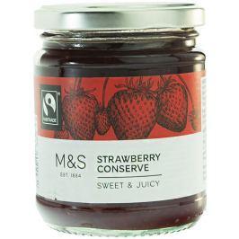 Marks & Spencer Jahodový extra džem