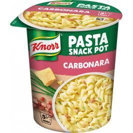 Knorr Snack Těstoviny Carbonara se sýrovou omáčkou a slaninou
