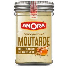 Amora  BBQ Hořčičná omáčka smedem