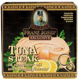 Franz Josef Kaiser Tuňák steak v rostlinném oleji s citronem