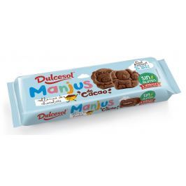 Dulcesol Manjus kakaový - bezlepkový piškot plněný čokoládou