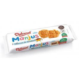 Dulcesol Manjus - bezlepkový piškot plněný čokoládou