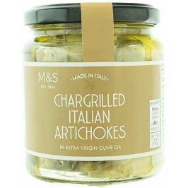 Marks & Spencer Grilované půlky artyčoků nakládané v extra panenském olivovém oleji