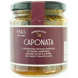 Marks & Spencer Lilek, olivy a kapary v husté rajčatové omáčce s cibulí a celerem