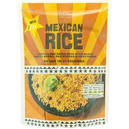 Marks & Spencer Kořeněná dlouhozrnná rýže s černými fazolemi, kukuřicí a červenou paprikou