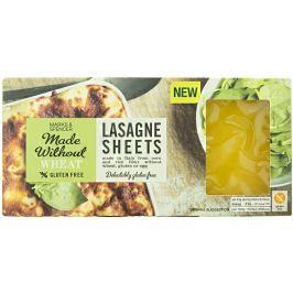Marks & Spencer Bezlepkové těstoviny lasagne z kukuřičné a rýžové mouky