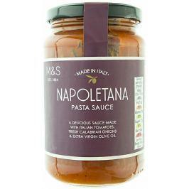 Marks & Spencer Rajčatová omáčka s cibulí, mrkví, celerem a extra panenským olivovým olejem