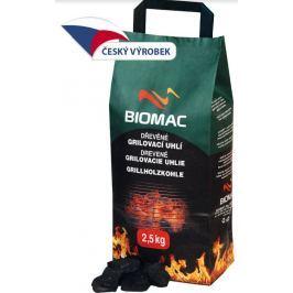 Biomac dřevěné grilovací uhlí z tvrdého dřeva