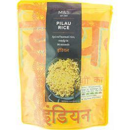 Marks & Spencer Mírně kořeněná vařená rýže basmati
