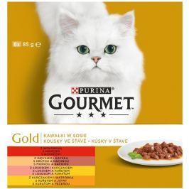 Gourmet Gold Multipack kousky ve šťávě 8x85g