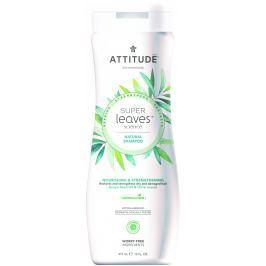 Attitude BIO Super leaves přírodní šampón s detoxikačním účinkem - vyživující pro suché a poškozené vlasy