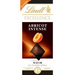 Lindt Excellence Apricot Intense hořká čokoláda