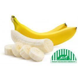 BIO banány, balení BIO ovoce a zelenina
