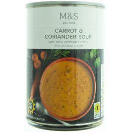 Marks & Spencer Mrkvová polévka s koriandrem a se smetanou