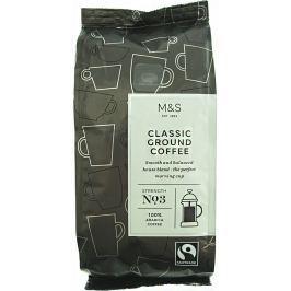 Marks & Spencer Klasická středně pražená mletá káva (100% Arabica)