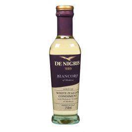 De Nigris Bílá italská zálivka z vinného octa