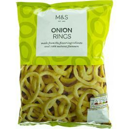 Marks & Spencer Bramborový snack s příchutí smažené cibulky Slané