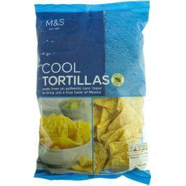 Marks & Spencer Tortilla chipsy kukuřičné solené