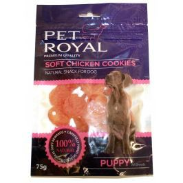 Pet Royal měkký pamlsek pro psy kuřecí sušenky