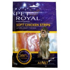 Pet Royal měkký pamlsek pro psy kuřecí nudličky