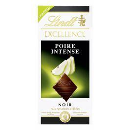 Lindt Excellence Poire Intense hořká čokoláda s hruškovou náplní