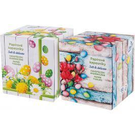 Linteo velikonoční balzámované papírové kapesníky 80ks