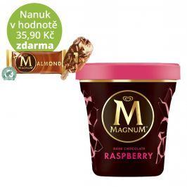 Magnum Raspberry & Dark Chocolate zmrzlina v kelímku