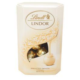 Lindt Lindor pralinky z bílé čokolády