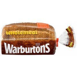 Warburtons Toustový chléb celozrnný (mražený)