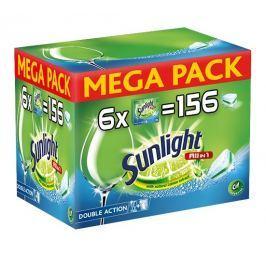 Sunlight All in 1 Tablety do myčky nádobí 156ks