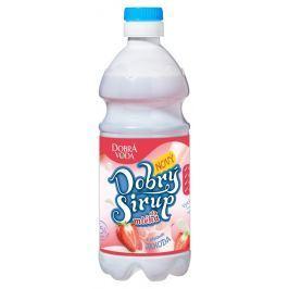 Dobrá voda Dobrý sirup do mléka s příchutí jahoda