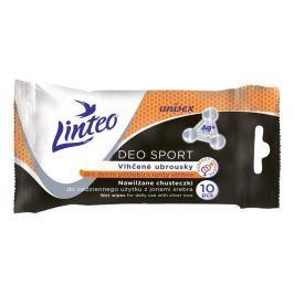 Linteo Deo Sport vlhčené ubrousky pro denní potřebu 10ks
