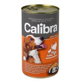 Calibra krůtí+kuřecí+těstoviny v želé konzerva pro psy
