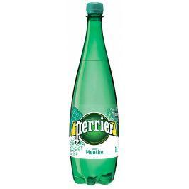 Perrier minerální voda mátová PET