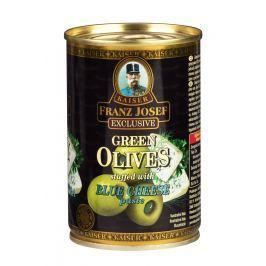F.J.Kaiser Olivy zelené plech plněné sýrovou pastou