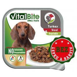 VitalBite vanička ragou s telecím, krůtím a zeleninou