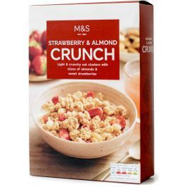 Marks & Spencer Strawberry & Almond Crunch