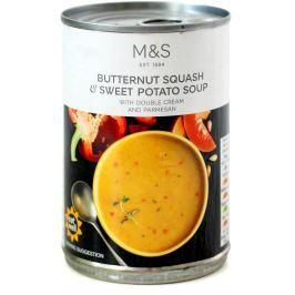 Marks & Spencer Dýňovo-batátová polévka s parmezánem