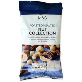 Marks & Spencer Směs pražených a solených ořechů Oříšky a sušené ovoce