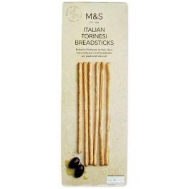 Marks & Spencer Italské chlebové tyčinky s olivovým olejem (5%) Slané