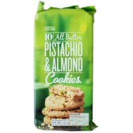 Marks & Spencer Máslové sušenky s pistáciovými ořechy a mandlemi