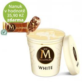 Magnum White zmrzlina v kelímku
